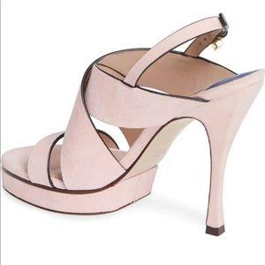17f13a1c7a2 Stuart Weitzman Shoes - Stuart Weitzman Suede Hester Heel Sz 9